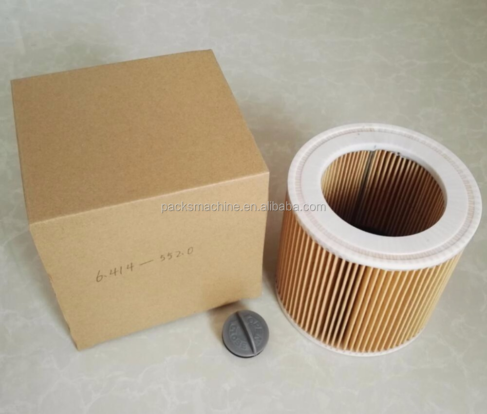 6.414-552.0 cartridge filter with small cap fit to MV2 WD2.200 WD3.500 A2504 A2654 A223 cylinder element air filter