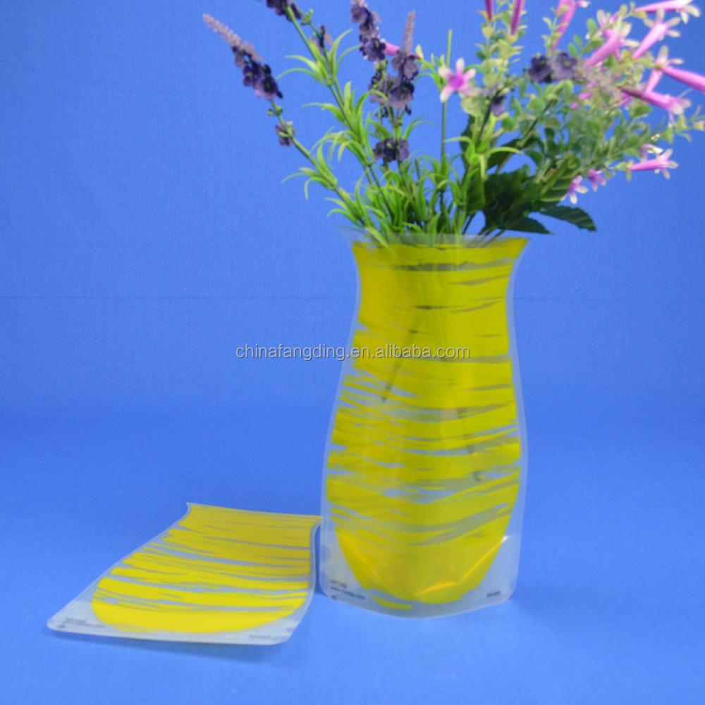 Foldable pvc flower vase flat buy foldable pvc flower vase foldable pvc flower vase flat floridaeventfo Gallery