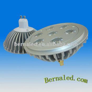 7*1w G53 Ar111 Led Lamp 7*1w Gu10 Dc12v Ar111 7*1w Straight Line ...