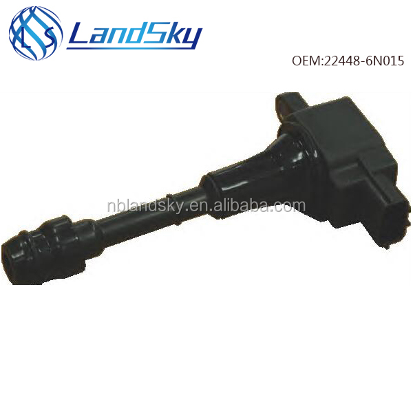 LandSky high quality black car ignition coil configuration OEM 22448-6N015