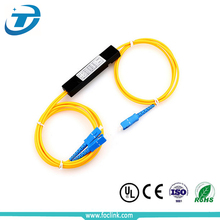 FTTH EPON GPON LGX Module Steel Tube FBT PLC Splitter, 1 2 4 8 16 32 64 128 Way Fiber Optic Splitter Box Price Coupler