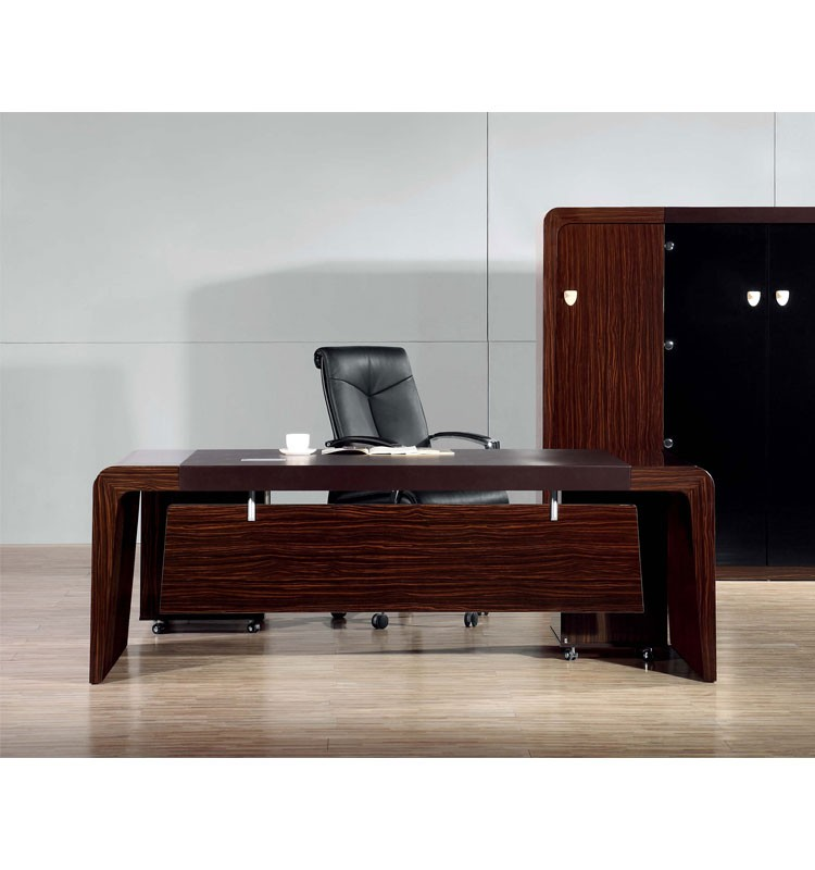 High End Large Executive Office Desk Rosewood