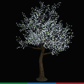 Decorative Lighted Trees And Flowers For Landscape Led Projection Lighting