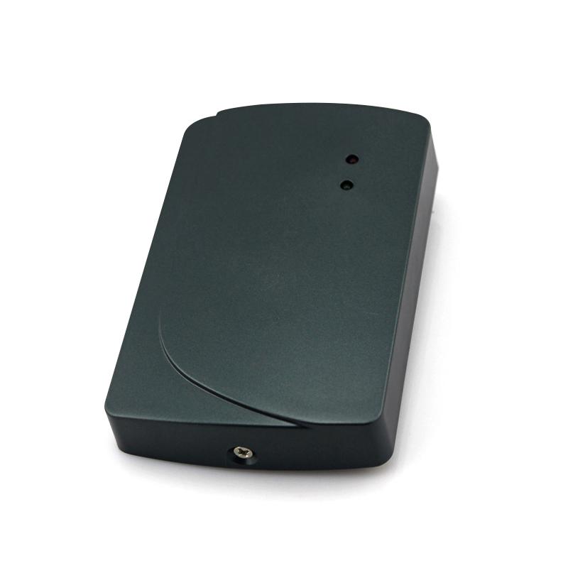 Alta calidad nfc tarjeta de control de acceso lector de wiegand rfid lector control de acceso de largo alcance lector