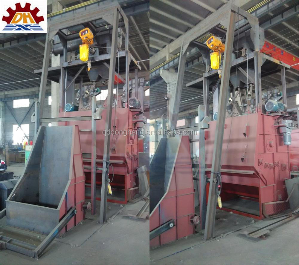 engineer install available tumblast China Best Quality Tumble Belt Shot Blasting Machine/Dry Cleaning Equipment