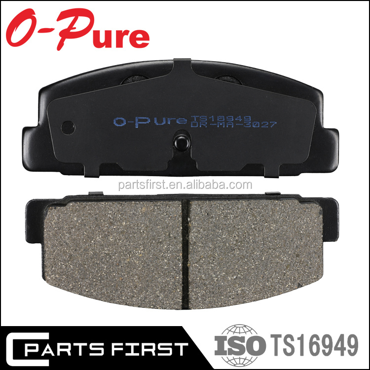 wholesale Auto spare part car accessories manufacturers disc brake block high quality shim brake pads for Car MAZDA FB06-49-280
