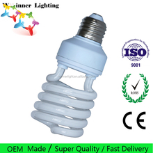 Cfl bulbs price spiral 23w 6500k mixing powders 6000H spiral cfl 25 watt compact fluorescent light bulbs