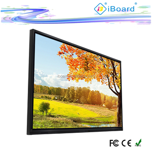"84"" UHD 4K touch screen monitor with touch sensor and IR frame"