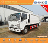 best selling hydraulic compactor truck rear loader garbage truck japan technology 700P 4x2 12m3
