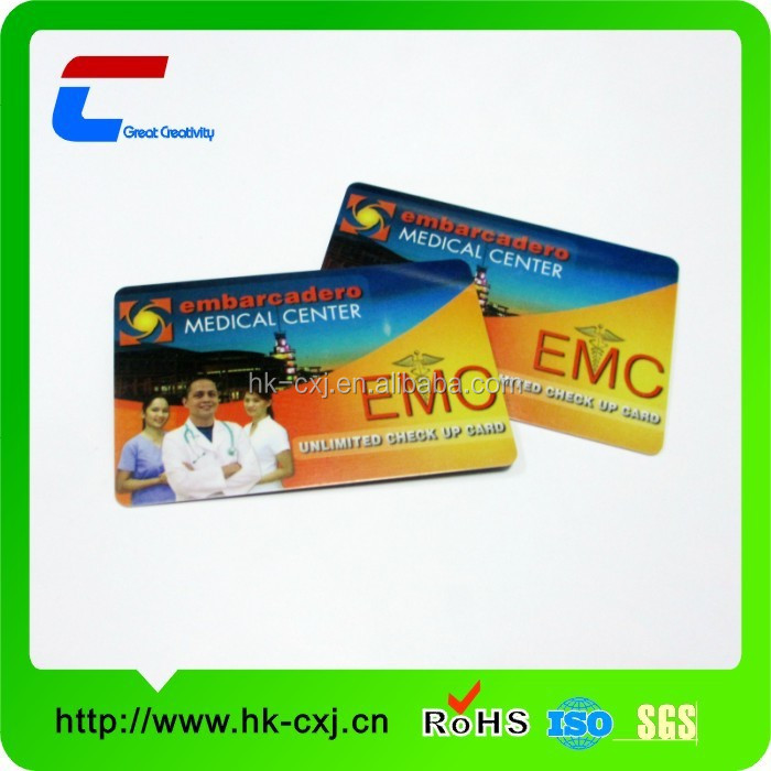 2015 best selling plastic pvc rfid door access control card