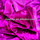Embossing Korea velvet fabric from manufacturer