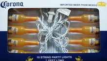 OFFICIAL CORONA 10 STRING 7FT BOTTLE PARTY LIGHTS NEW