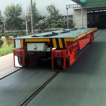 Cold Rolling Plant Galvanized Steel Coil Transport Transfer Trolley