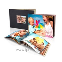 Customized paperbacked full color art paper print photo book