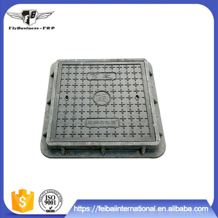 Factory supply Green design Super durable low price square drainage manhole cover