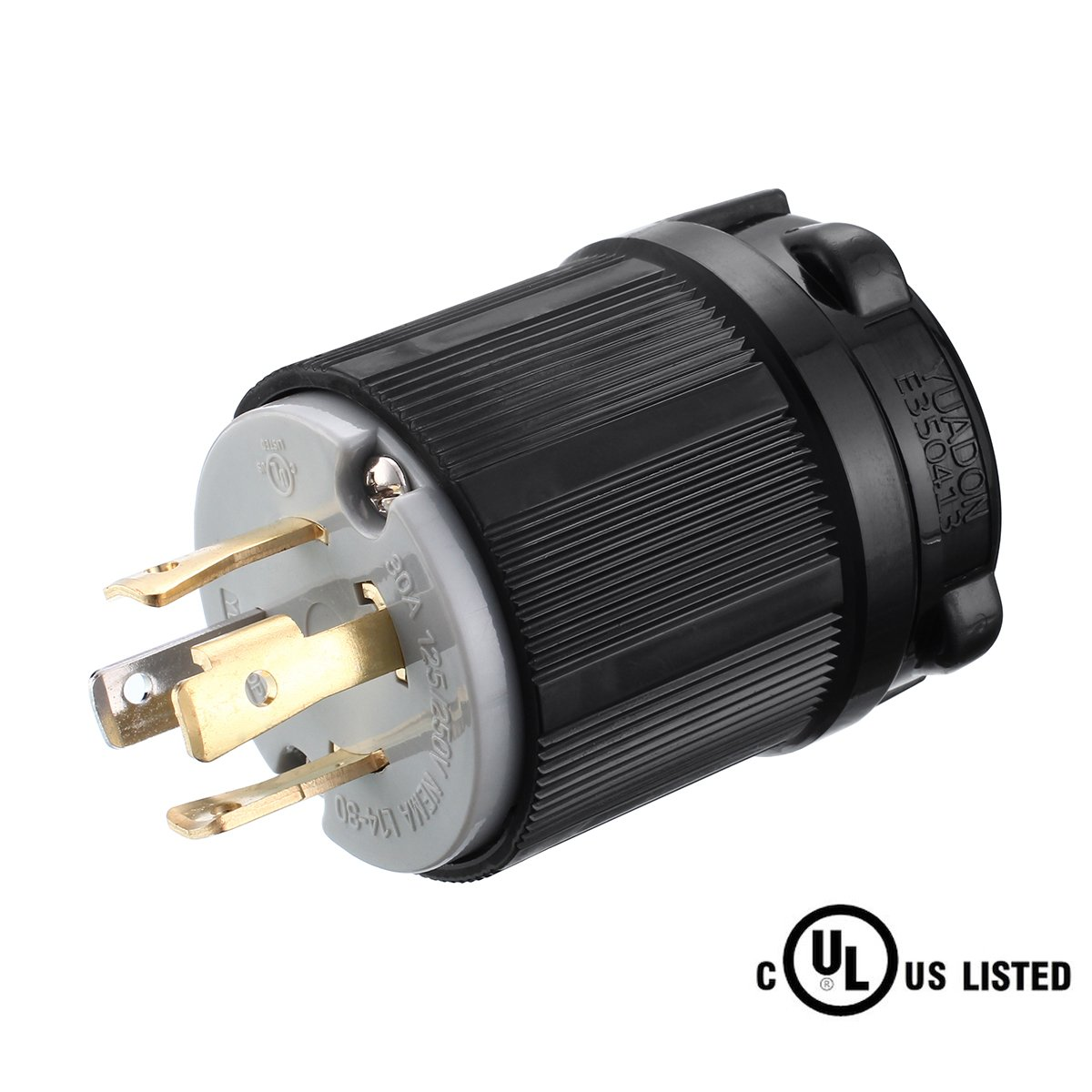 Buy Male Generator L14 30p 4 Prong Twist Lock Plug To Female 10 50r Wiring A 4prong Cable Outlet Miady Nema 30 Amp Industrial Grade Locking