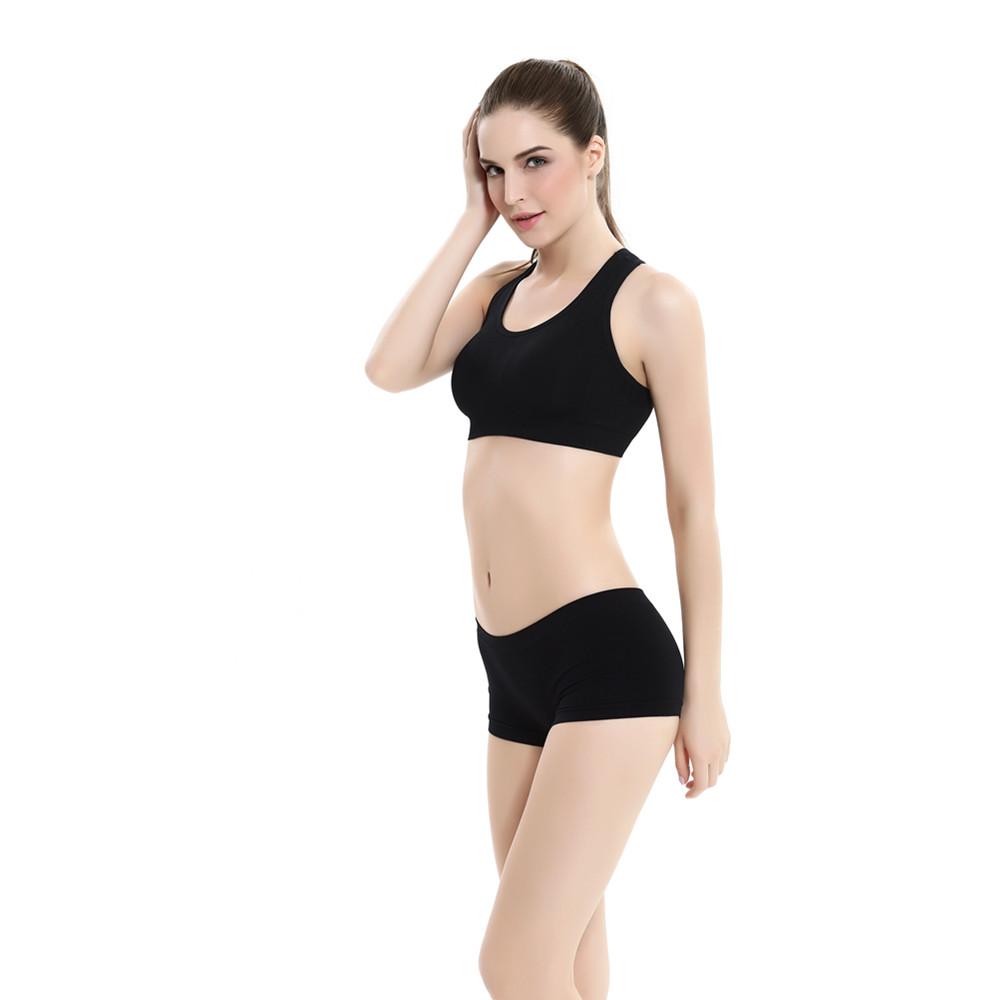 e96baad094 OEM sample free Strappy yoga bra seamless comfortable best sport bra for  yoga