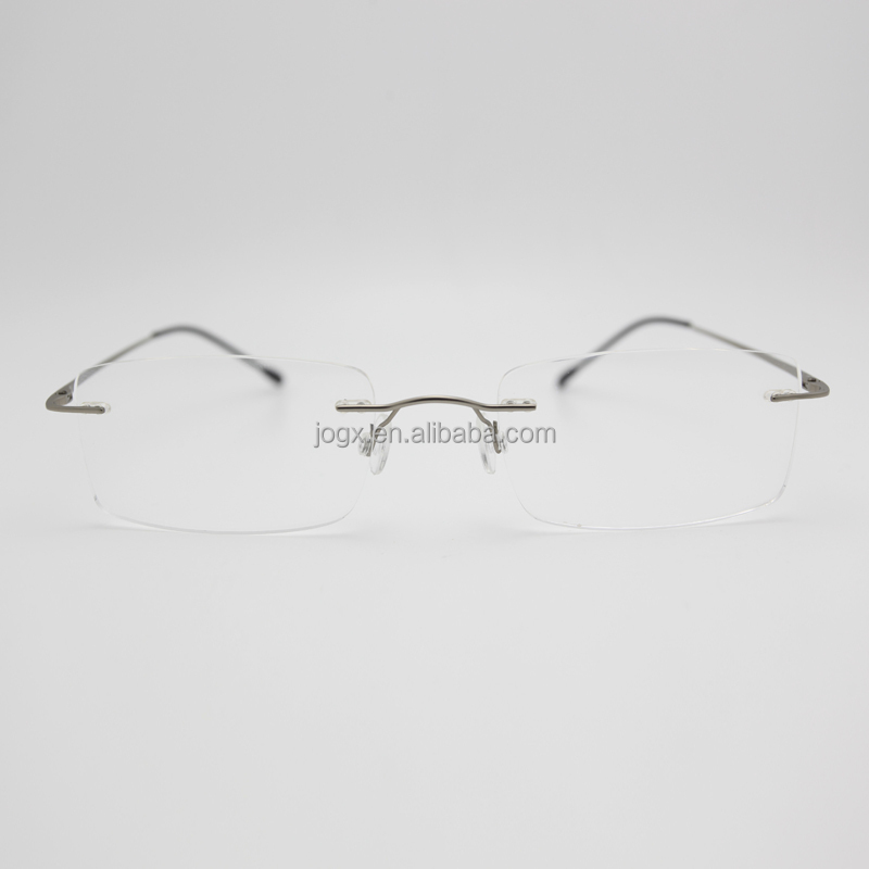ecee8701c8 wenzhou beta titanium frame glasses rimless titanic optical glasses with  high quality