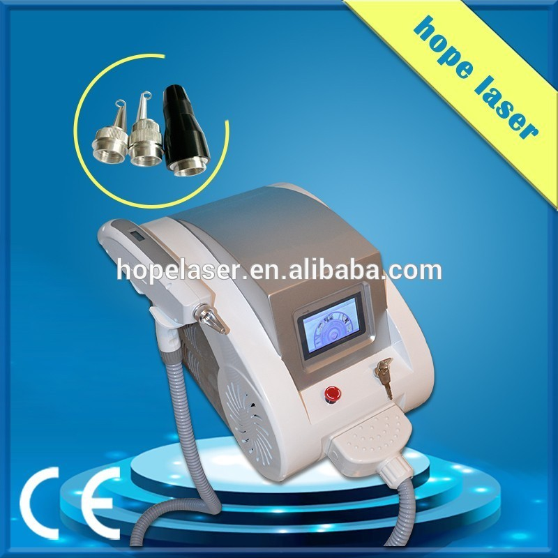 High quality yag laser tattoo for beauty clinic use