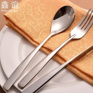 Bulk Spoon Knife Fork Home Goods Flatware Fruit Spoon Steak Knife