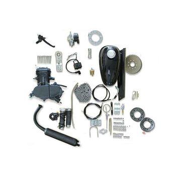 Silver 48cc 49cc 50cc 60cc 66cc 80cc Bike Motor Single Cylinder 48cc