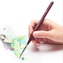 Watercolor oil Art Drawing lines Paint Brush nail art painting brush Calligraphy Pen Claborate-style painting designer