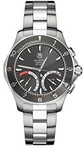 TAG Heuer Men's CAF7111.BA0803 Aquaracer Calibre S Regatta Collection Chronograph Stainless Steel Watch