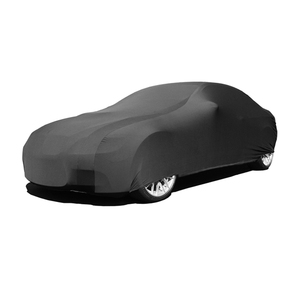 Stock Black Indoor Super Soft Stretch Car Cover