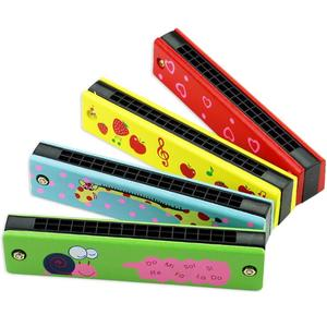 New Creative Children's Educational Toys Mini Harmonica Good Quality Wooden Learning Music Toys