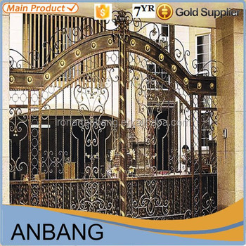 2015 Alibaba Express Wrought Iron House Gate Color