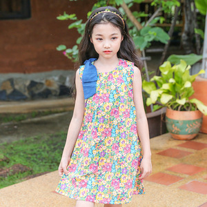fa78ebf6f2d35 2018 Brand Bohemia Children Dress Girls Summer Floral Party Dresses Toddler  Clothing Kids 7 10 14 Years Old Girls Dress For Baby