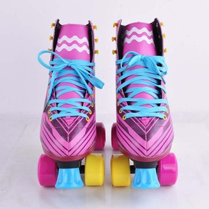 Cheapest Pink 5 wheels Roller skates/in line skates/outdoor inline skates