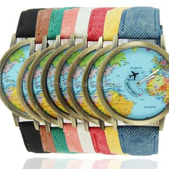 Fashion Travel Watch World Map Watch Leather Luxury Map Watch - Buy Luxury  Map Watch,World Map Watch,Fashion Travel Watch Product on Alibaba.com