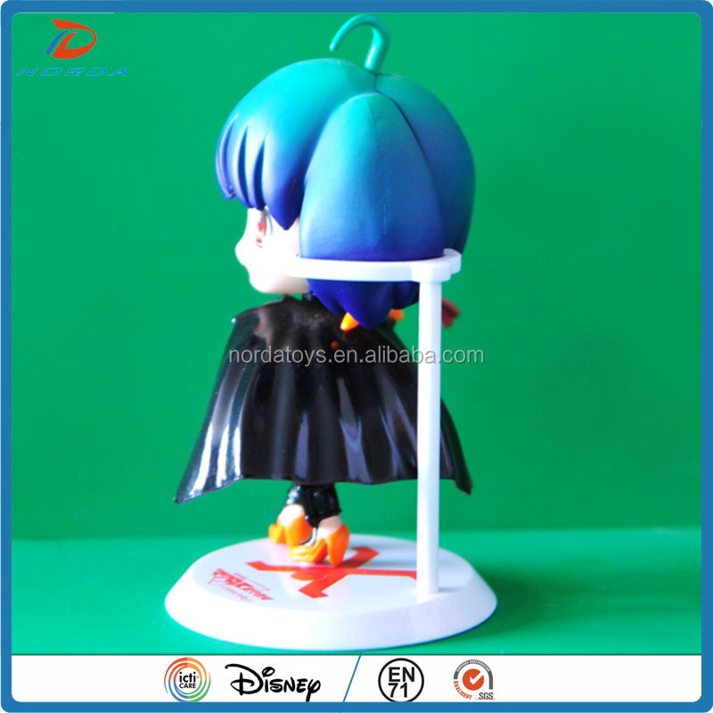 customized soft PVC plastic figurine maker