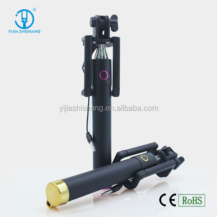 2015 Fashion Selfie Monopod With Mini Selfie Stick, extendable portable mini camera tripod monopod