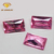 3# Princess Cut Synthetic Rose Red Ruby Corundum Price