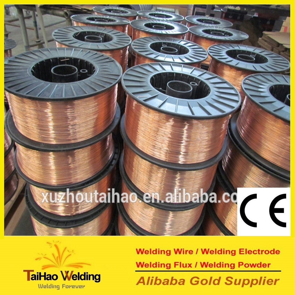Gas Shielded Welding Wire ER70S-6/Mig Welding Wire Material/all position welding wire ER70S-6