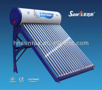 high absorption non-pressurized solar water heater fitting