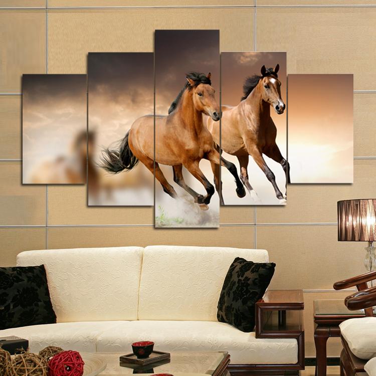 Un Cheval Au Galop Modèles De Peinture Sur Toile Mur Art Photos Pour Salon Buy Peintures D Art Peinture Peinture Sur Toile Product On Alibaba Com