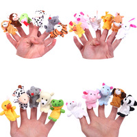 Cheap China Wholesale Children Plush Animal Finger Puppet Toy