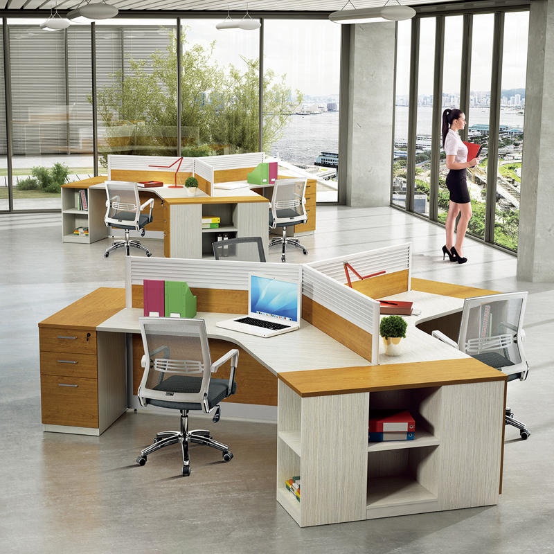 modern office cubicle. Modern Office Cubicle Workstations Of 3 Person Partition Glass Wall - Buy Workstation,Office Partition,Office Product On