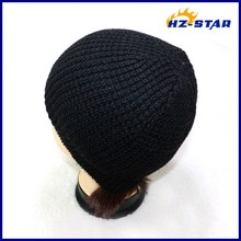 HZM-13343003 simple cheaper yiwu chatting online fishing fashion 100% acrylic beanie knitted caps