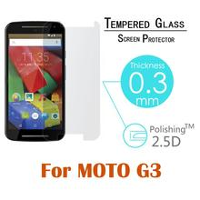 0.26MM 2.5D Premium Tempered Glass Screen Protector For Motorola Moto G3 G 3rd Gen 2015 XT1541 XT1540 XT1550 Protective Film
