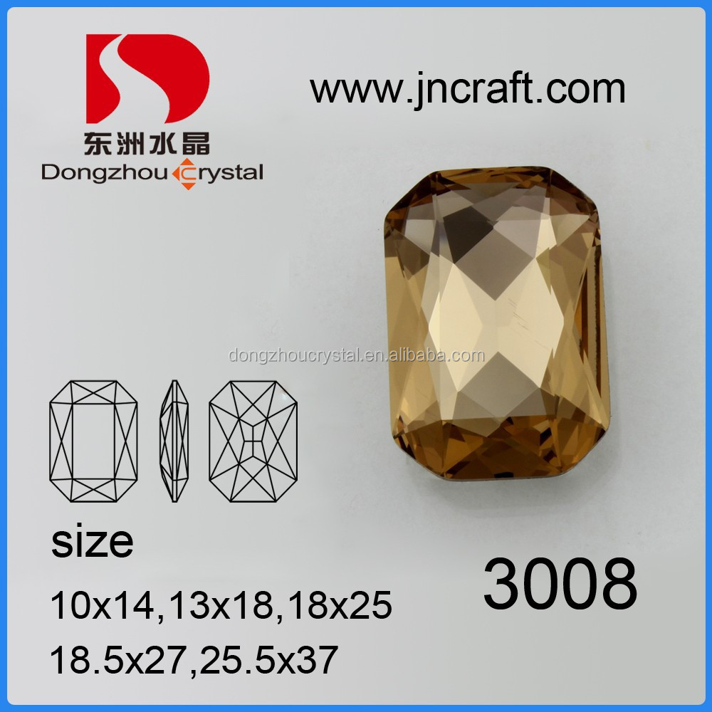Natural Crystal Quartz Fancy stone Shape Loose Stone