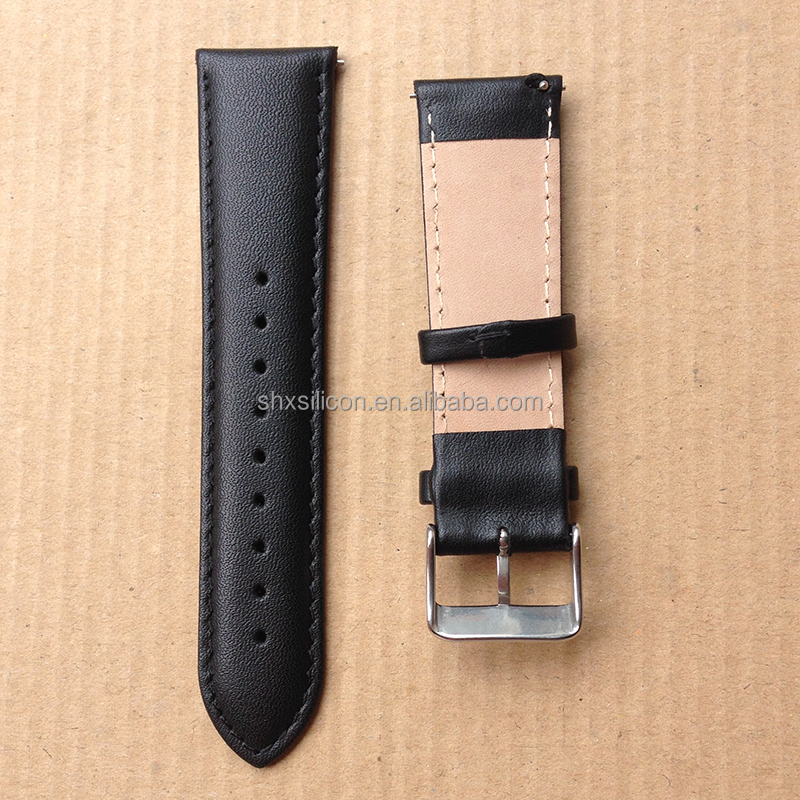 quick release suede watch smart strap 20mm