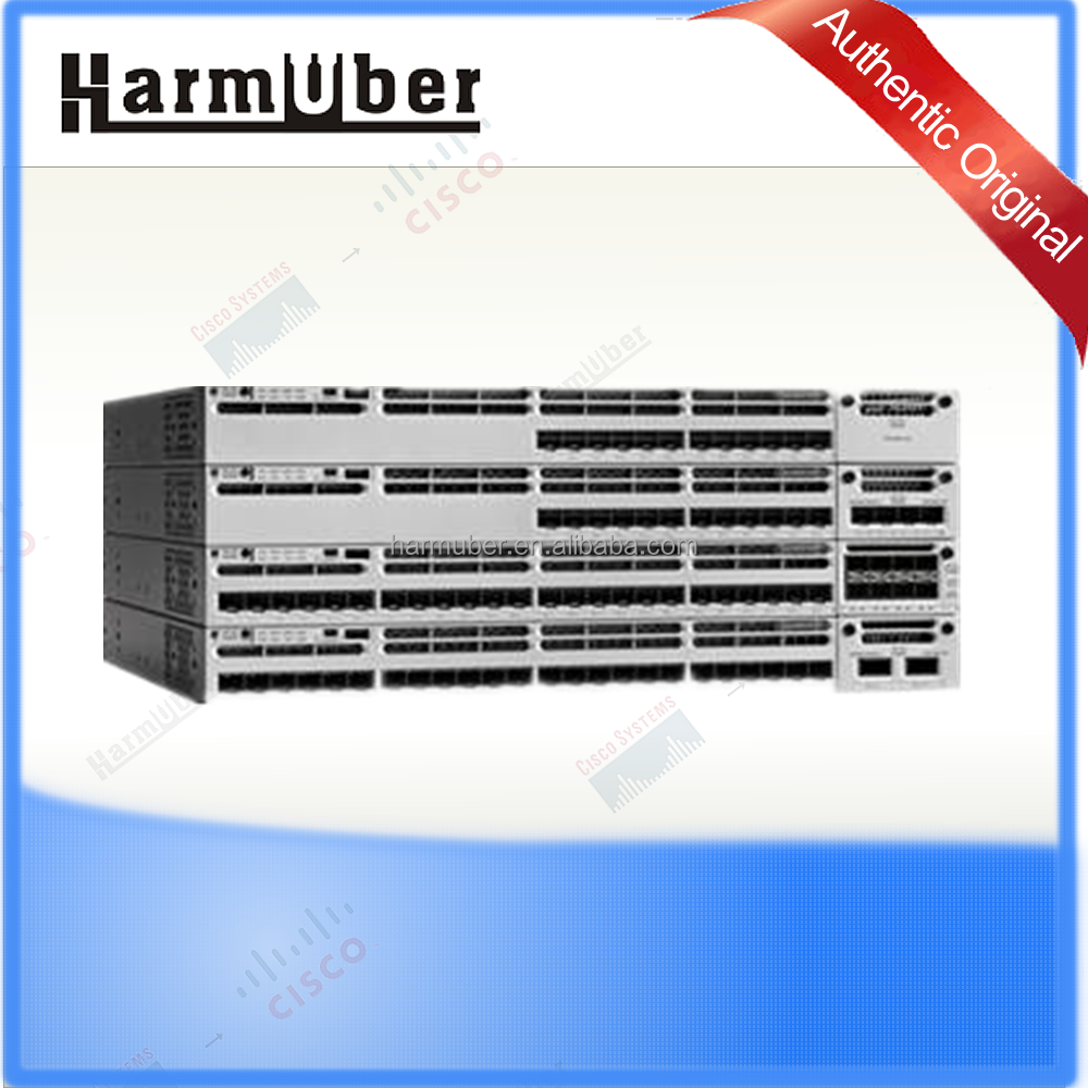 Original Stackable 48 10/100/1000 Ethernet PoE+ ports VPN switches WS-C3850-48P-S 48 ports
