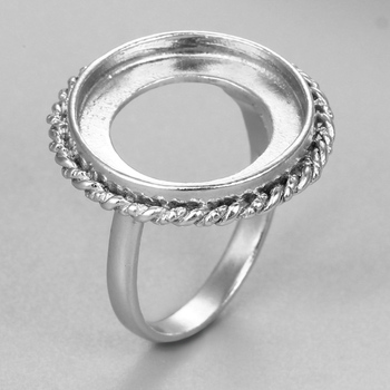 ring without product settings stones sterling detail wholesale mountings silver jewellery