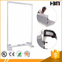 Wholesale 120mm double side Advertising Tension Strecth Fabric Poster aluminum frame