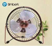 Decorative table mini cooling fan
