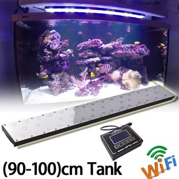36inch,90cm,3ft Wifi Full Spectrum Led Aquarium Light For Coral Reef ...